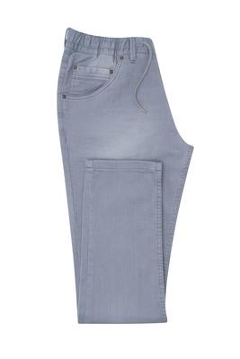 Kalhoty casual extra slim, barva šedá
