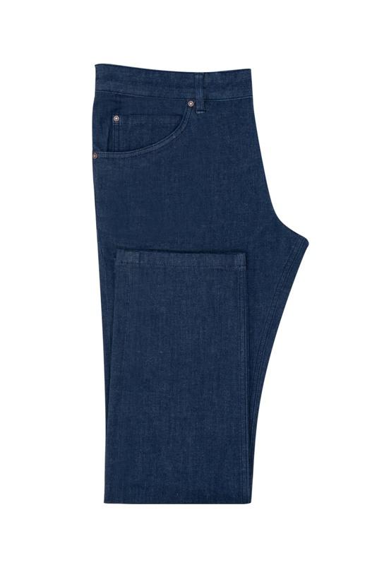 Kalhoty , barva modrá