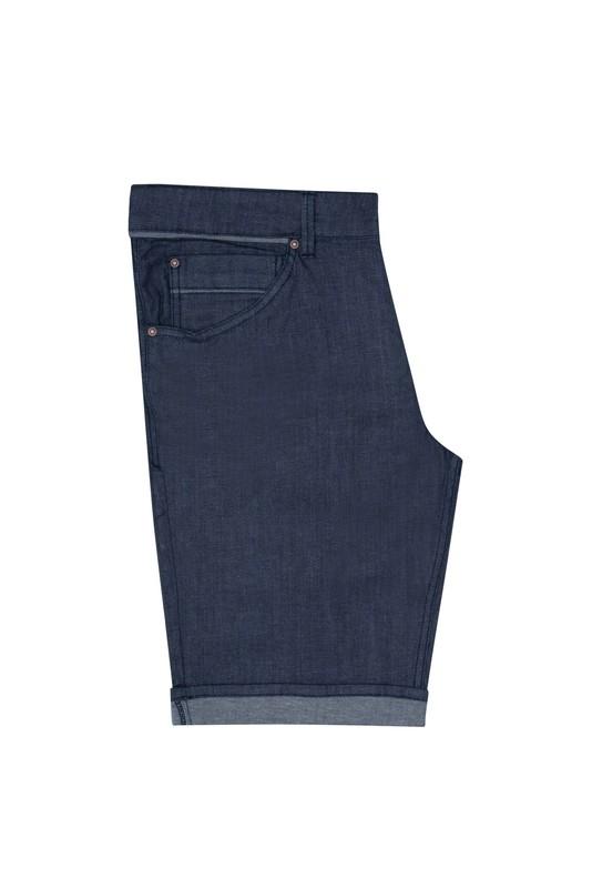 Krátké kalhoty casual slim, barva modrá