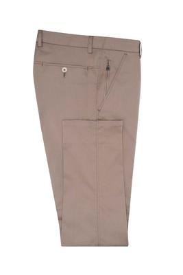 Kalhoty informal slim, barva béžová