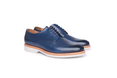 Obuv informal regular, barva modrá