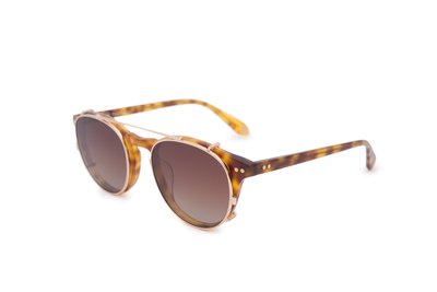 Sluneční brýle , barva hnědá
