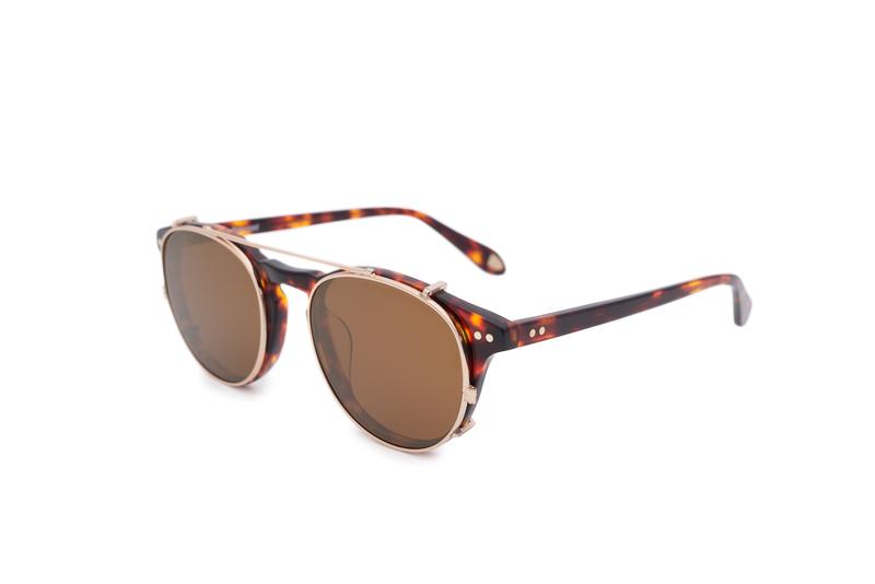 Sluneční brýle informal, barva hnědá