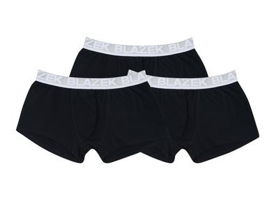 3pack - boxerky , barva černá