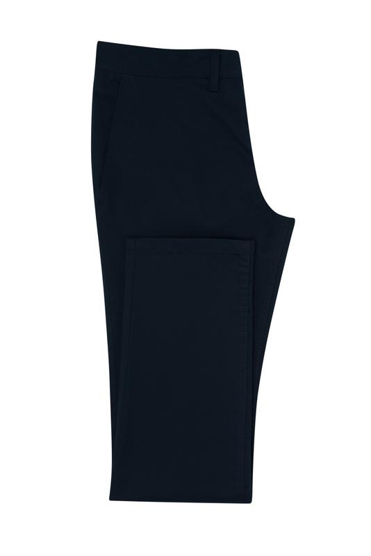 Kalhoty informal slim, barva černá
