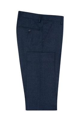 Oblekové kalhoty formal extra slim, barva modrá