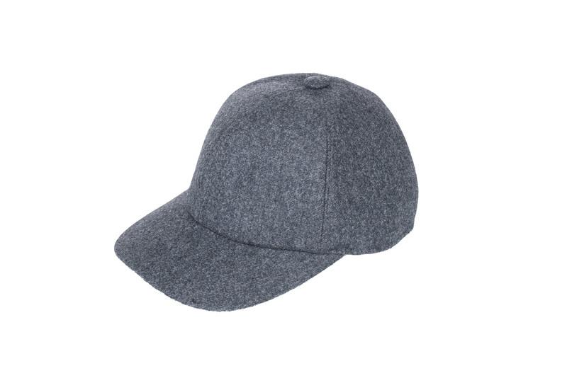Čepice informal, barva šedá