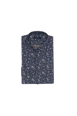 Košile informal, barva modrá