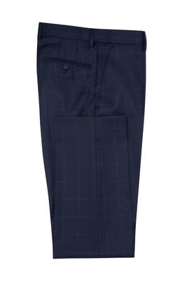 Oblekové kalhoty formal sport, barva modrá