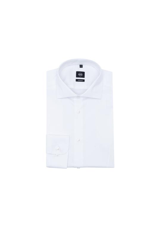 Košile essential extra slim, barva bílá