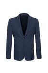 Oblekové sako formal extra slim, barva modrá