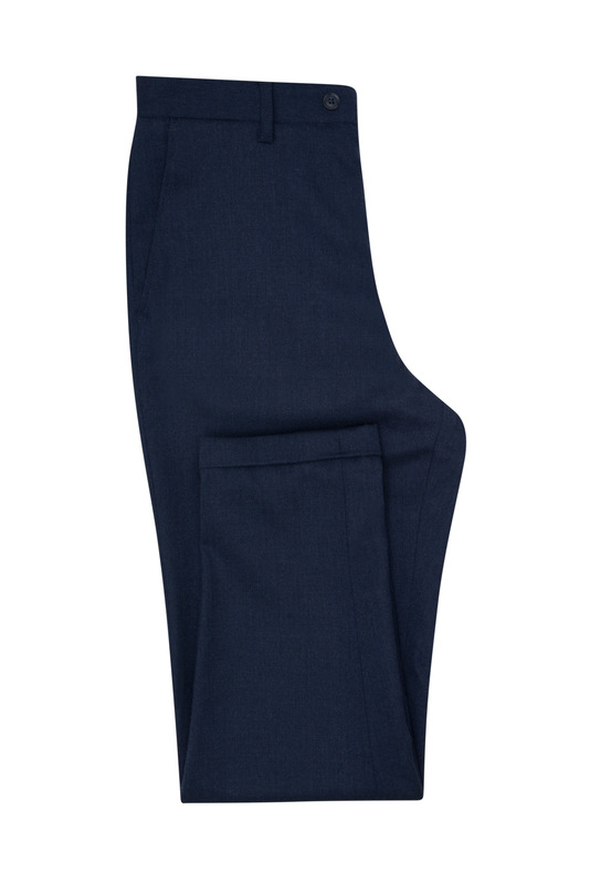 Kalhoty informal, barva modrá