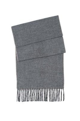 Šála informal, barva šedá, béžová
