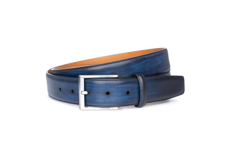 Opasek informal, barva modrá