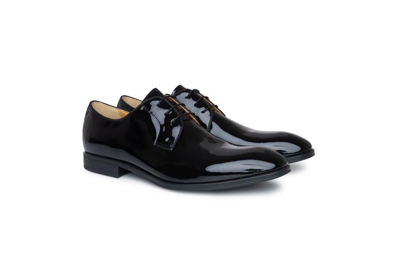 Obuv formal slim, barva černá