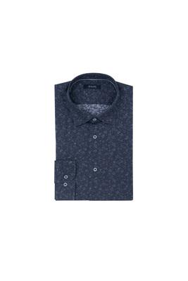 Košile informal extra slim, barva modrá