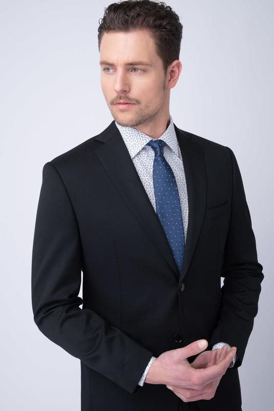 Oblekové sako essential sport, barva černá