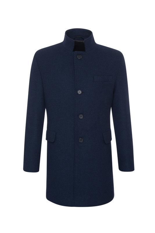 Plášť informal extra slim, barva modrá