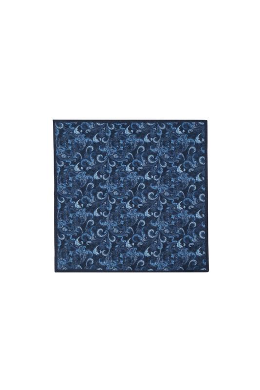 Kapesníček informal, barva modrá