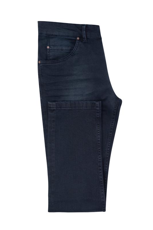 Jeansy informal slim, barva modrá