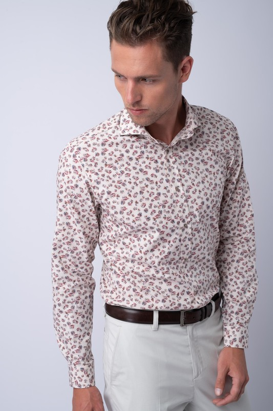 Neformální košile Ze 100% bavlny od Albini