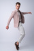 Neformální kalhoty Světle béžové barvy