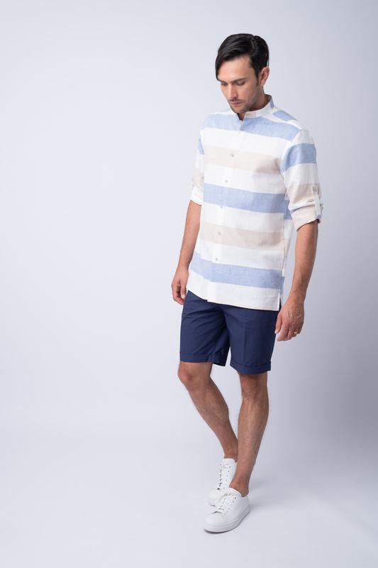 Letní šortky Tmavě modré barvy