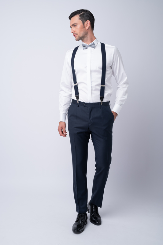 Luxusní kalhoty Ze 100% merino vlny