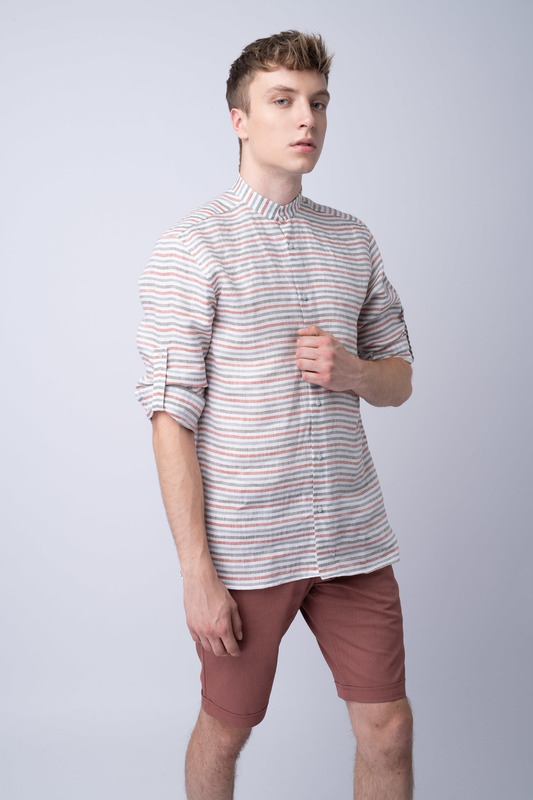 Krátké kalhoty informal extra slim, barva tyrkysová