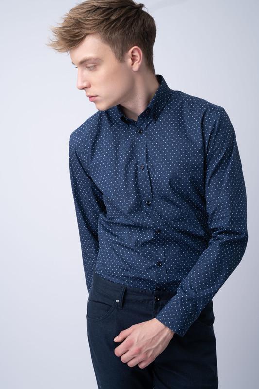 Neformální košile S button down límcem