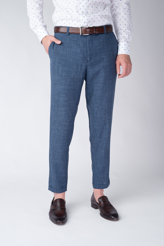Oblekové kalhoty Z materiálu od Loro Piana