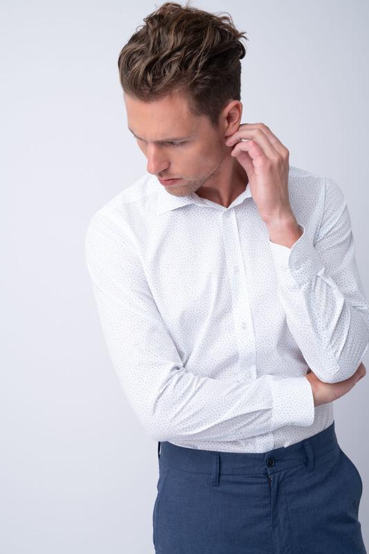 Neformální košile S jemným potiskem