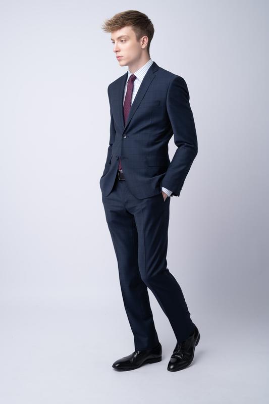 Oblekové sako S károvaným vzorem