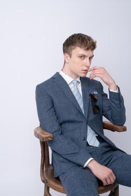 Oblekové sako Z materiálu od Loro Piana