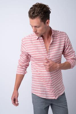 Volnočasová košile Ze 100% lnu od Canclini