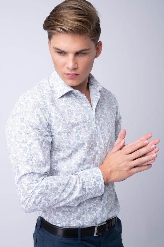 Neformální košile S decentním vzorem