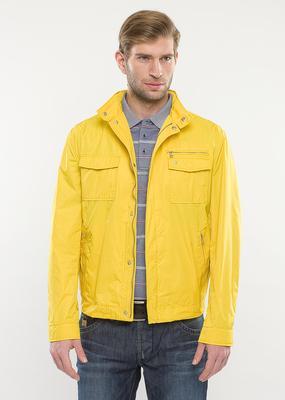 Pánská bunda  regular, barva žlutá