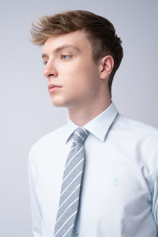 Formální kravata Ze směsi bavlny a hedvábí