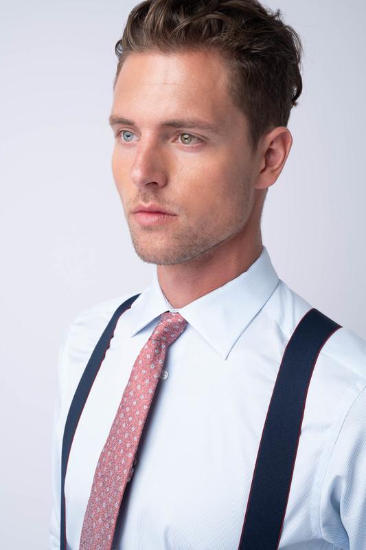 Kravata formal, barva růžová