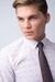 Formální kravata Ze směsi bavlny a lnu
