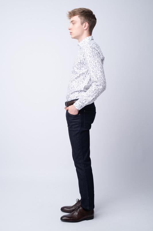 Modré džíny Bez oprání