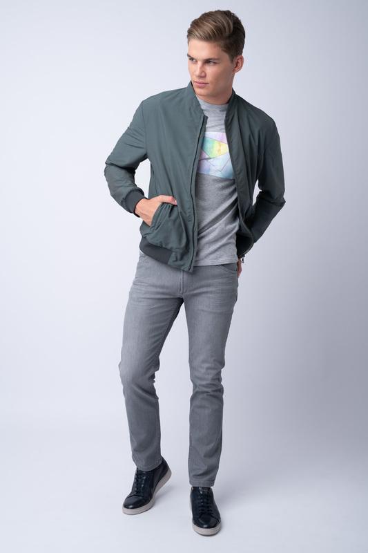 Šedé džíny Bez oprání
