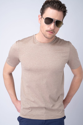 Volnočasové triko Béžové barvy