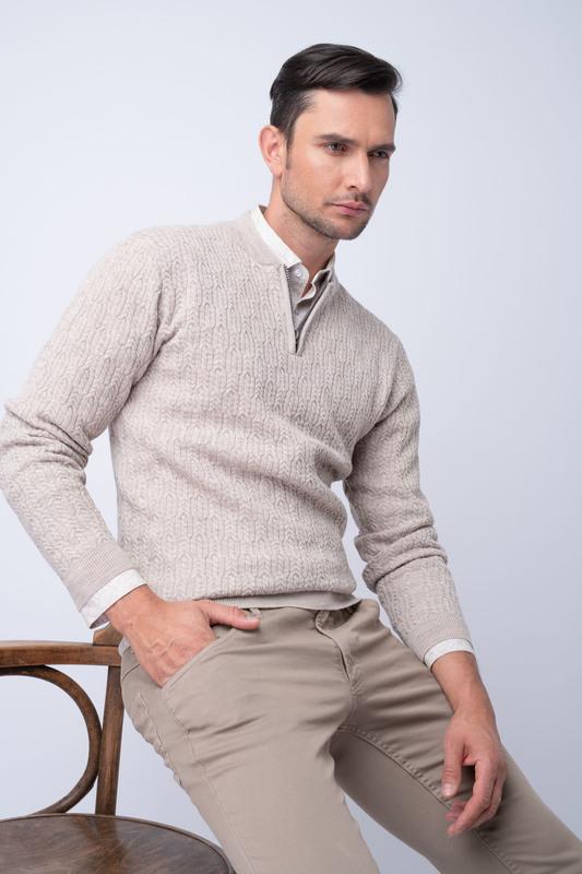 Neformální svetr Ze 100% merino vlny