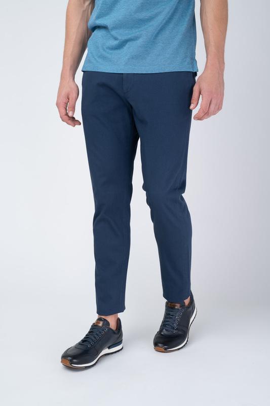 Kalhoty Ručně barvený do odstínu hnědé