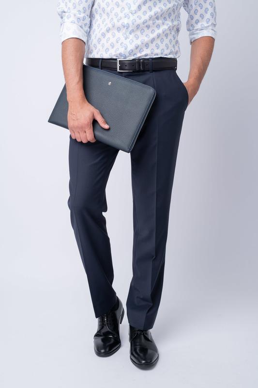 Oblekové kalhoty Ve volnějším střihu Sport