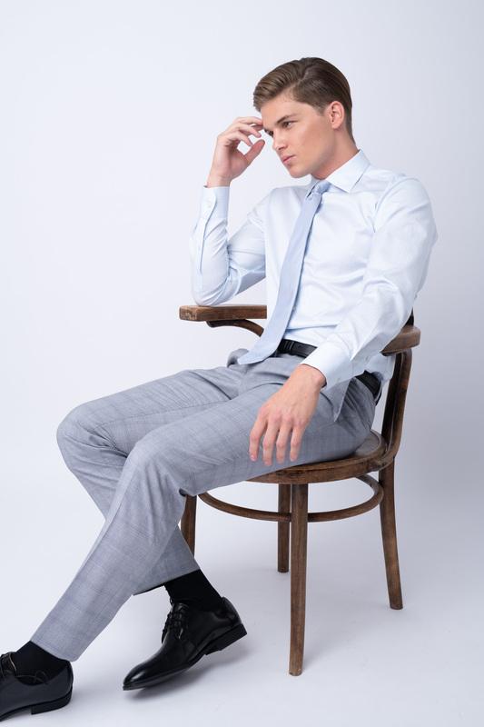Oblekové kalhoty Z merino vlny