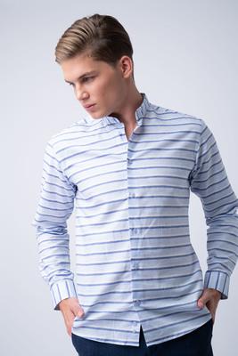 Formální košile Se stojáčkovým límcem