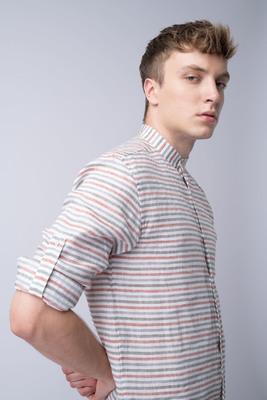 Letní košile Ze 100% lnu od Canclini
