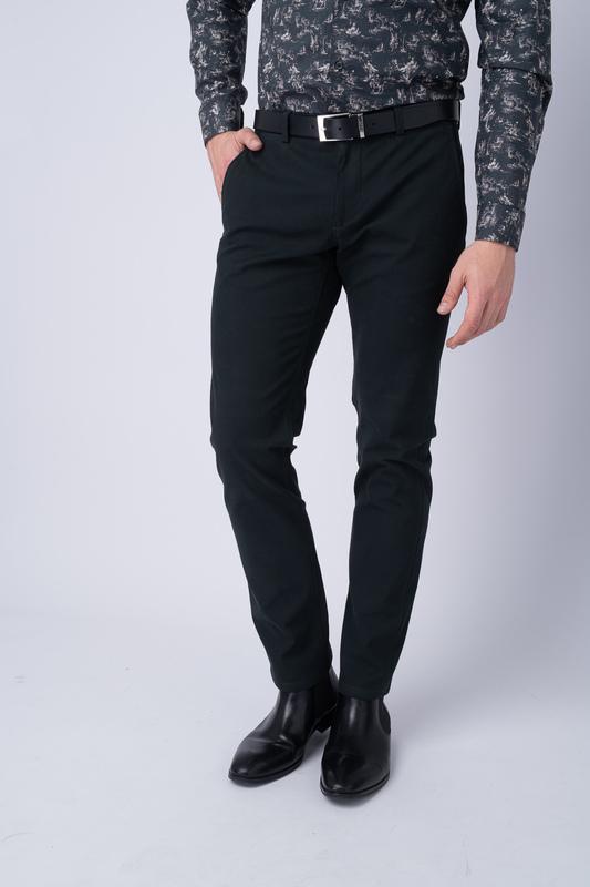 Neformální kalhoty Tmavě zelené barvy